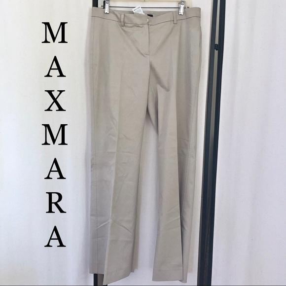 MaxMara Pants - MaxMara Weekender Khaki Trouser